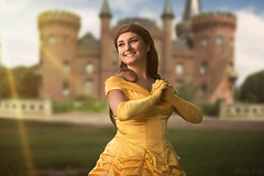 Belle from Beauty and the Beast photoshoot :) (PixelBoxPhoto) Tags: bell disney princess costume dress portrait pretty girl woman nikon d800 belle
