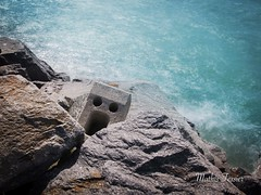 The Scream (MathisTessier) Tags: stone pierre mer sea mesquer landart
