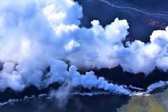Lava steam (thomasgorman1) Tags: steam gases flow lava volcanic nature shore shoreline aerial nikon sea ocean pele magma coast puna