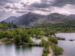 Llyn Padarn, Snowdonia (Ian Gedge) Tags: uk britain wales snowdonia water cymru snowdon padarn lake llynpadarn mountains