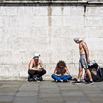 Shirtless by a Wall thumbnail
