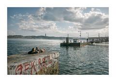 Cais do Sodré, Lisboa (Sr. Cordeiro) Tags: caisdosodré lisboa lisbon portugal rio tejo tagus river doca cais docks dock pier sunbath sunbathing banhodesol panasonic lumix tz100 zs100
