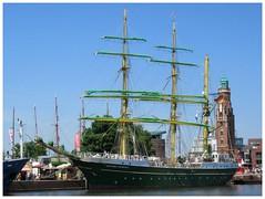Alexander von Humboldt II (v8dub) Tags: alexander von humboldt ii allemagne deutschland germany german niedersachsen bremerhaven hafen port bateau schiff ship boat boot voilier sailboat segelboot weser old oldtimer