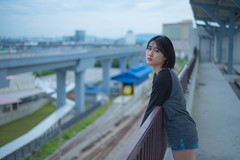 DSC_3626 (Waynegraphy) Tags: waynelee waynegraphy photography photographer nikon d750 50mm f18 nikkor malaysia girl shooting outdoor street mrt