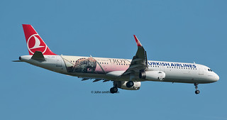TC-JTP TURKISH AIRLINES A321  Troy titles