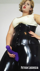 FetishLucreciaStrapon (madam.lucrecia1) Tags: latex rubber bbw curvy domina dominatrix czech milf mistress leggings thick thighs corsage big ass