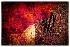 it's true: you can go up, you can go down (kazimierz.pietruszewski) Tags: abstraction abstract form composition digipaint digitalart concept graphic colorful diptych 21 truth