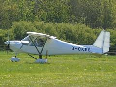 G-CKGS Ikarus C42 FB80 (c/n 1705-7501) Popham (andrewt242) Tags: gckgs ikarus c42 fb80 cn 17057501 popham