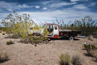 Lanfair Road, Mojave National Preserve, California