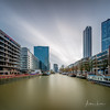 Rotterdam Canal I (Alec Lux) Tags: rotterdam architecture atmosphere building canal city cityscape colorful colors holland landscape landscapephotography longexposure netherlands reflection river skyline structure urban water zuidholland nl