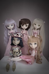 Le jardin des roses (fragolette) Tags: pullip taeyang melody latte paja blanche another king doll family