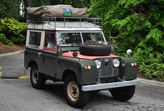 1963 Land Rover Series-IIA 88 (Custom_Cab) Tags: 1963 land rover landrover seriesiia 2a series ii 2 a iia 88 swb tent camper roof top howlingmoon rv recreational vehicle hardtop short wheelbase 4x4 4wd 4 four wheel drive