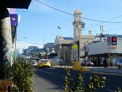 City Hall, Richmond, Victoria (Diepflingerbahn) Tags: cityhall townhall richmond victoria cityofyarra bridgeroad tram taxi tramroute75 tramstop safetyzone tramstopsafetyzone