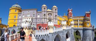 Palais de la Pena palace..Sintra ..Portugal