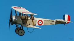 Bristol Scout - 1264 (G-FDHB) (Ian. J. Winfield) Tags: shuttleworth oldwarden bedfordshire airshow plane aeroplane aircraft flight flying ww1 greatwar worldwar1 rnas royalnavalairservice 1264 bristol scout biplane replica gfdhb