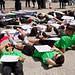 Die-In Protest Against Israeli Defense Forces Killing Unarmed Gazan Civilians Chicago Illinois 5-31-18  1786