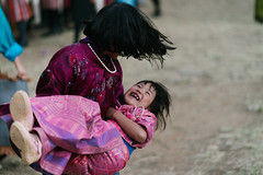 Bonds of Blood. (A. adnan) Tags: sisters sister siblings paro bhutan travel moment love affection girls playful candid