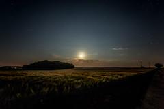 Somewhere in the Night (M-Z-Photo) Tags: adelshofen bayern deutschland de langzeitbelichtung nachtaufnahme mondlicht felder natur wolken sternenhimmel