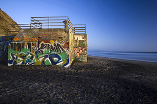 Graffiti on a Friendly Beach