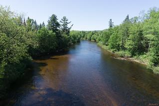 Rivière du diable, Mont-Tremblant, P.Q., Canada - 06975