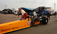 Dragster_0006 (Fast an' Bulbous) Tags: racecar drag race strip track pits car vehicle automobile outdoor santapod motorsport fast speed power acceleration nikon d7100 gimp