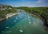 Summer at Solva (Anthony de Schoolmeester) Tags: solva westwales tidalinlet boats water sea colours bluesky drone dronephotography djimavicpro pembrokeshire pembrokeshirecoast coast aerialview aerialphotography