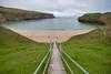 To the Beach (Evoljo) Tags: countydonegal ireland steps grass green climb walk nikon d500 beach water sand coast