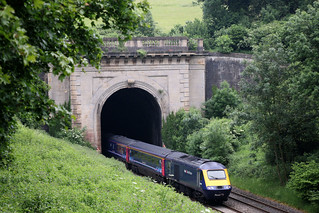 43164 British Railways / Paxman Class 43 HST, Great Western Railway, West Portal, Box Tunnel, Box, Wiltshire