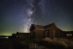 Old towns just fade away (ihikesandiego) Tags: bodie state park ghost town eastern sierras astrophotography