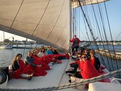 Even een update van wat leuke groepsfoto's van afgelopen periode...  Wil  je ook een  keer iets organiseren? Of ken  je iemand?   #Zeilen #ijsselmeer #zeilschip #Bounty #super #leuk #actief #ontspannen #luxe #genieten