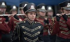 Marching Band (Scott 97006) Tags: band marching woman female lady uniform uniforms hats march music