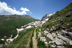 Valle di Pilato e le sue montagne (EmozionInUnClick - l'Avventuriero photographer) Tags: sibillini montagna panorama sentiero valledipilato sonya7riii tracieloeterra