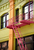 "San Francisco – Chinatown Balcony ""Grant Street"" (David Paul Ohmer) Tags: san francisco california chinatown balcony steps color grant street fire escape"