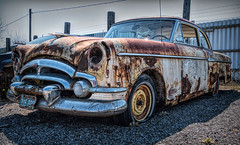 Dom's Auto Wreckers (nancy1607ca) Tags: car rust vintage vehicle wreck ontario