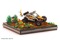 Ariel Nomad (Pixel Fox) Tags: lego ariel nomad diorama offroad vignette buggy