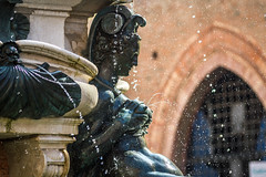 Milk profusion (Aresio) Tags: bologna italy statue tits fountain art water