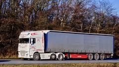 AX33629 (18.02.14, Motorvej 501, Viby J)DSC_1786_Balancer (Lav Ulv) Tags: daf dafxf xfeuro6 xf510 superspacecab twinsteer mortenlarsensøn e6 euro6 6x2 2015 wsi truckavailableasscalemodel kelbergtrailer curtainside gardintrailer planentrailer mortenlarsen tørring truck truckphoto truckspotter traffic trafik verkehr cabover street road strasse vej commercialvehicles erhvervskøretøjer danmark denmark dänemark danishhauliers danskefirmaer danskevognmænd vehicle køretøj aarhus lkw lastbil lastvogn camion vehicule coe danemark danimarca lorry autocarra motorway autobahn motorvej vibyj highway hiway autostrada trækker hauler zugmaschine tractorunit tractor artic articulated semi sattelzug auflieger trailer sattelschlepper