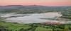 Red-tipped mountains (Wizmatt) Tags: mynydd llangorse pen y fan lake mist fog horizon sunrise mountain golden hour brecon beacons wales south farmland fields landscape photography