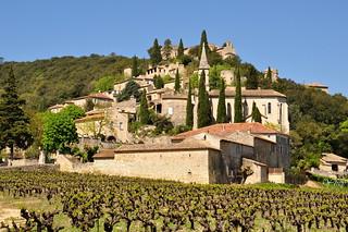 La Roque sur Cèze 2 (Gard) .. Le village