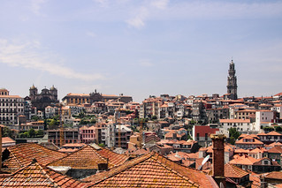 Red Roofs of the old Porto