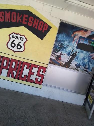#route66 #ro #sign #travel #highway #interstate #road #ro #street #smokeshop #smoke #shop #smoking #cigarettes #cigars #vape #chess #fun #supernatural #wizards #marketing #advertising #ad #art #prices #business