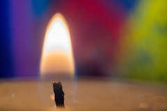 Spectral warming (OzzRod) Tags: sony a7rii helios4458mmf213blade гелиос44 reversed extensiontubes rgb flame candle uncropped macro