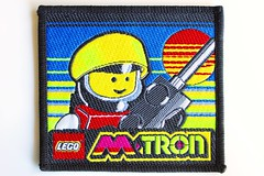 M-Tron woven patch (BF Bricks) Tags: lego ephemera collectible patch sew embroidered 80s 90s