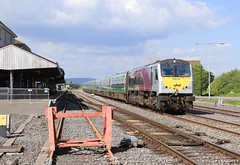 8209 Limerick Junction 107mp (finnyus) Tags: limerickjunction 8209 209 riverfoyle foyle enterprise translinkni translink