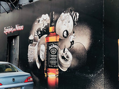 Jack Lives Here (RobW_) Tags: jack daniels advertising stavrostounotou music club neos kosmos athens greece wednesday 28mar2018 march 2018
