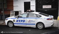New York City Police Department (NYPD) Fusion (nyfrp) Tags: new york city police department nypd manhattan west village downtown tribeca world trade center interceptor utility fpiu taurus sedan impala chevy tahoe crown victoria fpis cvpi