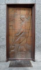 Art Deco Panel (davidvines1) Tags: artdeco panel architecture luxembourg accinauto