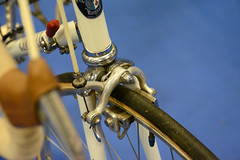 CR2018-2005a Cinelli with drilled crank arms 1971 - Steve Beasley (kurtsj00) Tags: cinelli with drilled crank arms 1971 steve beasley classic rendezvous 2018 vintage lightweight bicycles bike