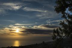 """Mi Atalaya (Tenisca """"Alexis Martín"""") Tags: tijarafe puestadesol atalaya mirador paisaje ocaso cielo sky panorama vista horizonte atardecer anochecer crepúsculo oscurecer oeste poniente occidente atlántico"""