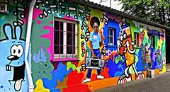 Frankfurt 2018.05.10. Mural 12.8 (Rainer Pidun) Tags: mural streetart urbanart publicart frankfurt